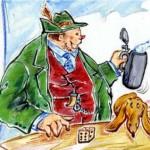 Bierdimpfl aus der Witzesammlung Bayerische Witze