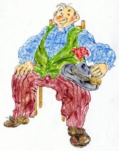 Rentner Alfons Kneidlbeck aus Wolfratshausen